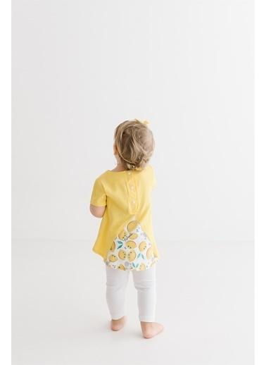 Minnie Mouse Lisanslı Bebek Takım 17351 Sarı